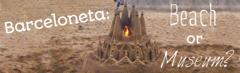 Barceloneta: en strand eller ett museum?