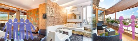 Un appartement: le lieu idéal pour les familles, groupes ou couples?