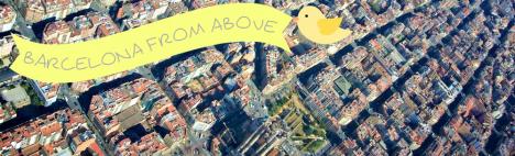 Barcelona från ovan