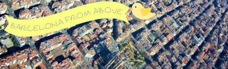 Barcelone, vue du ciel
