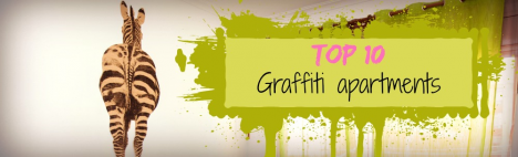 Top 10 appartements avec graffitis!