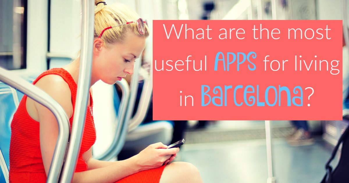 The best mobile apps for Barcelona