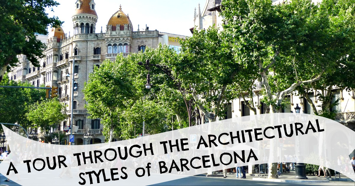 What are the iconic architectural styles of Barcelona?