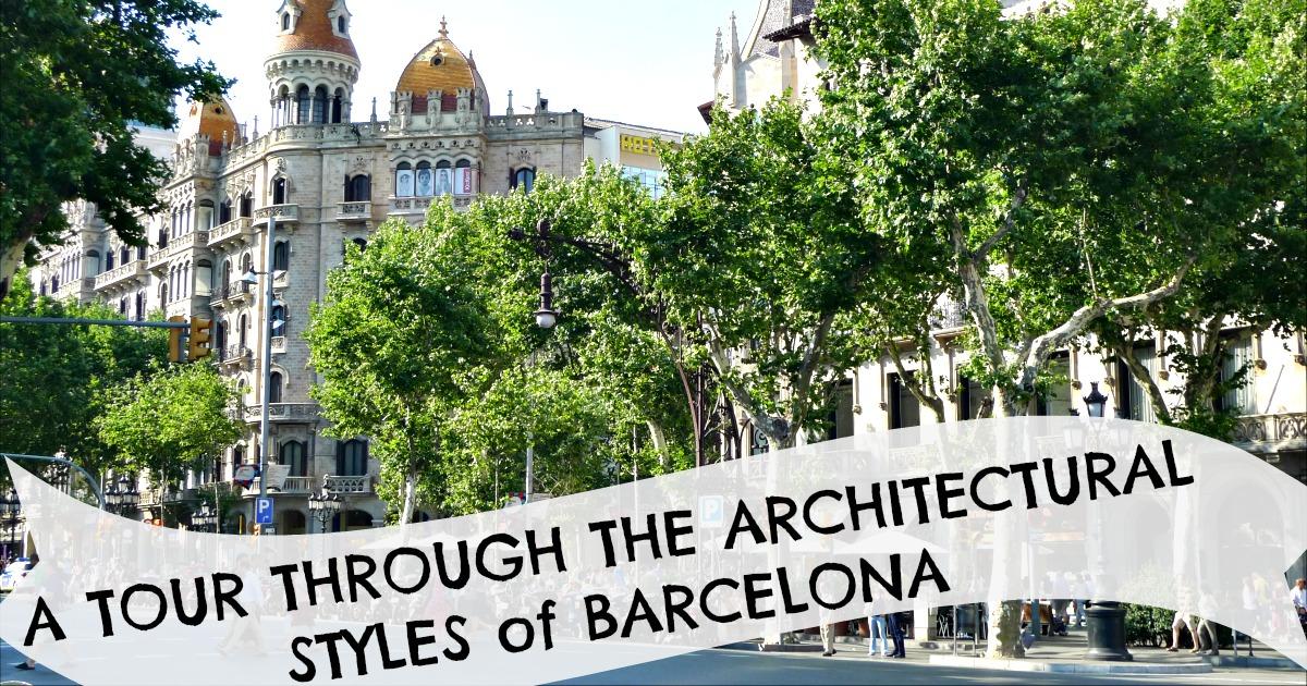 Все архитектурные стили Барселоны
