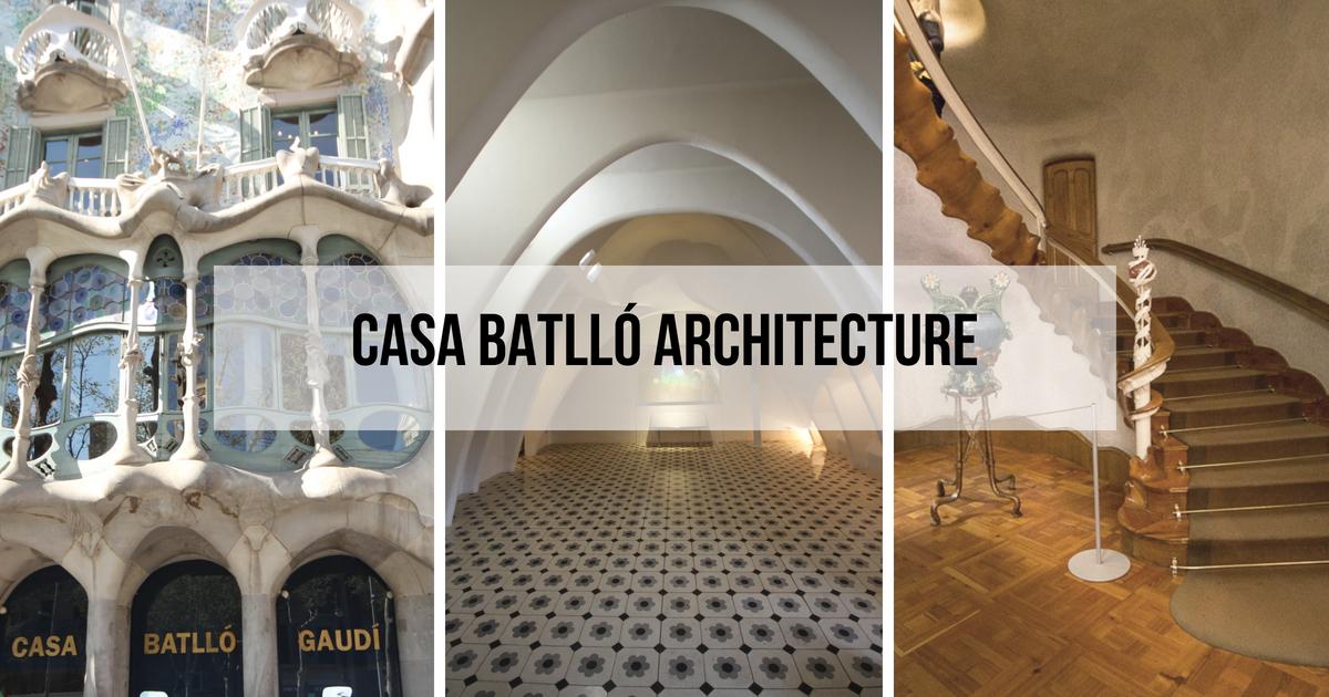Casa Batlló de Gaudí : Intérieur, Façade et Toit
