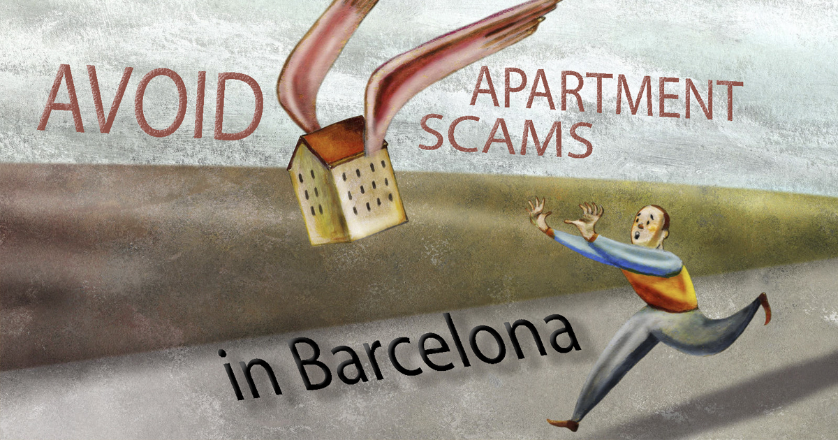 Avoid online apartment scams when renting in Barcelona