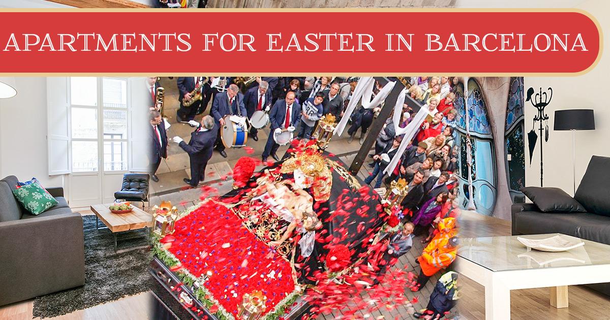 6 appartamenti per trascorrere la Pasqua a Barcellona