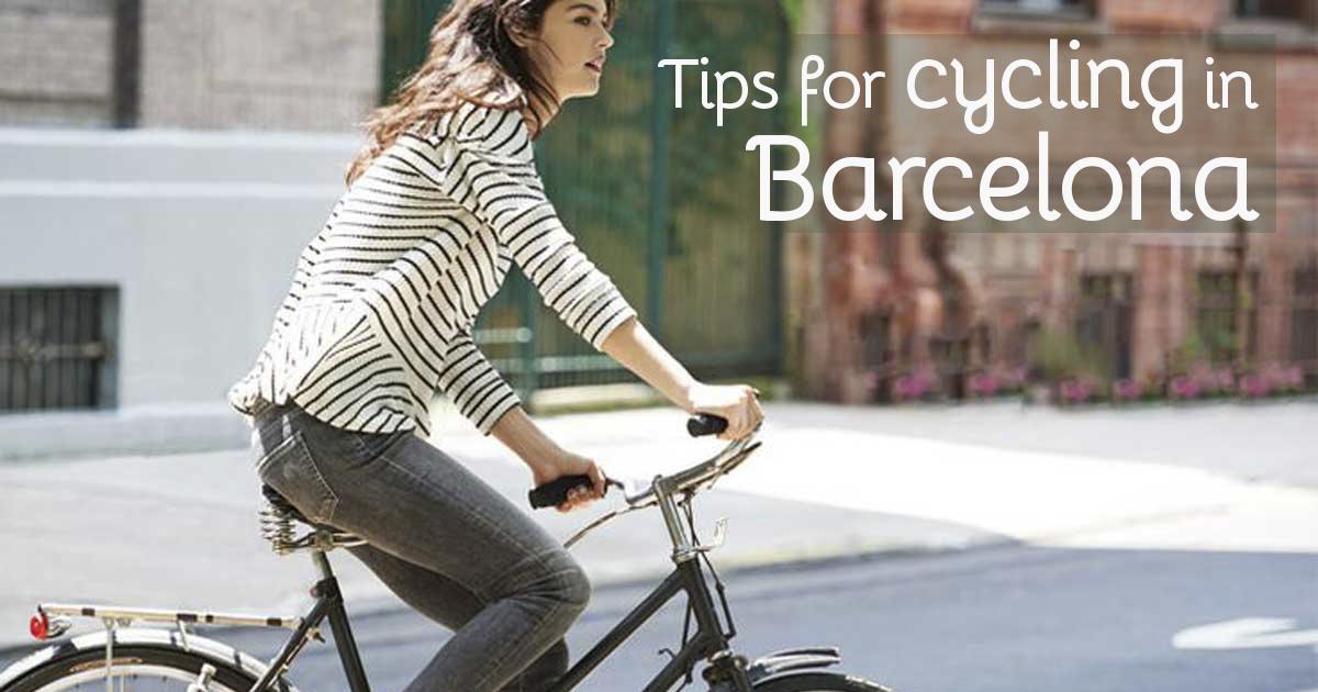 Conseils pour faire du velo a Barcelone