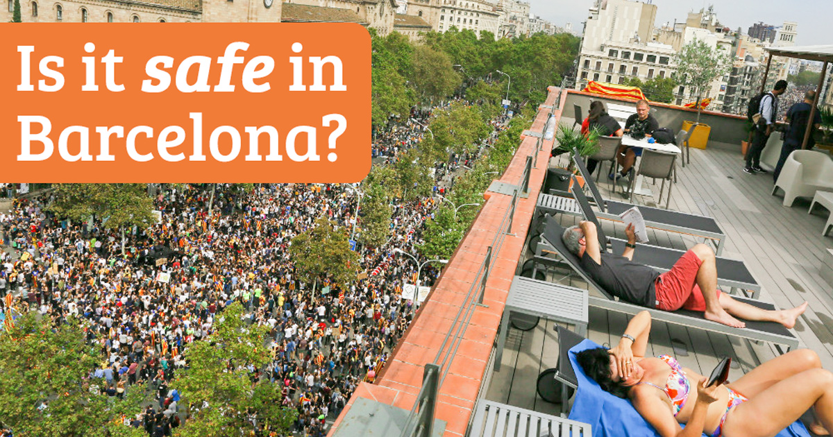 Does the Catalan conflict make Barcelona unsafe?