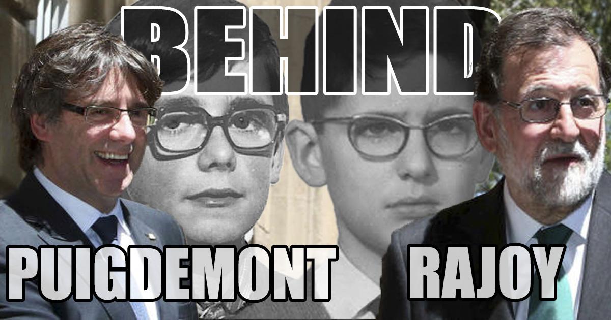 Rajoy i Puigdemont - wcale nie tak różni