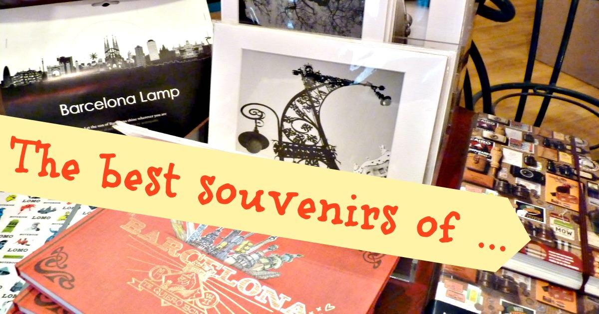Los mejores souvenirs de Barcelona