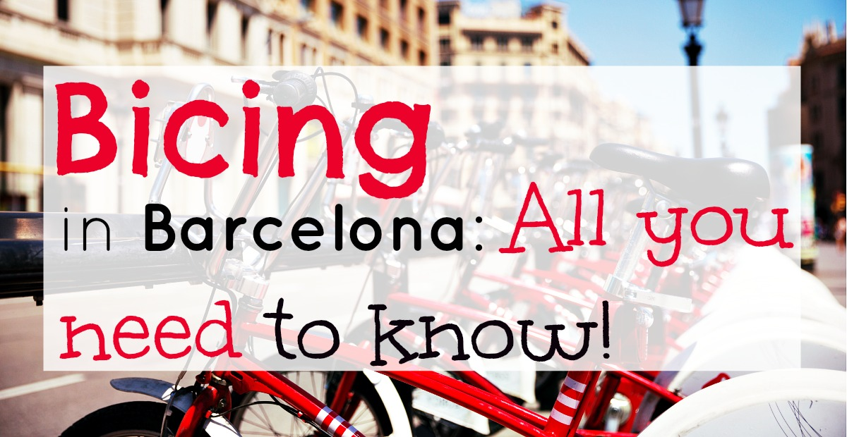 Carte Bicing Barcelone.Toutes Les Informations Sur La Locations De Velos A Barcelone