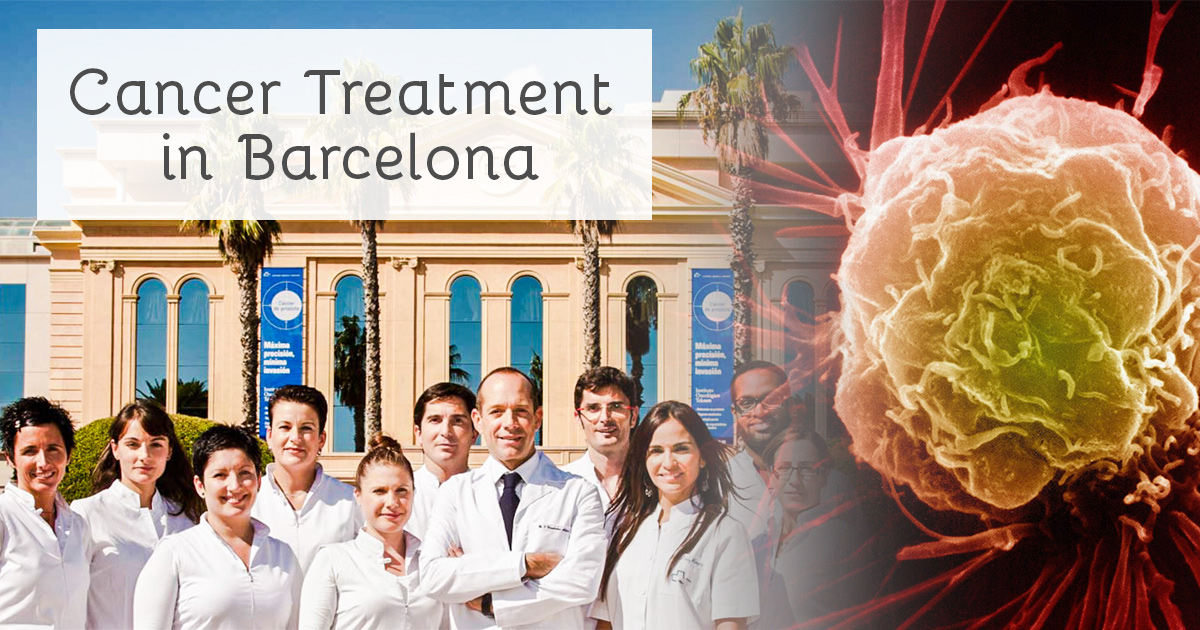 Going to Barcelona for Cancer Treatment