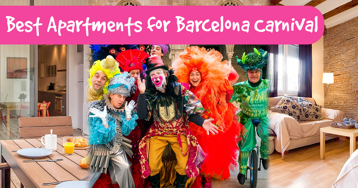 Where to stay for the Barcelona Carnival