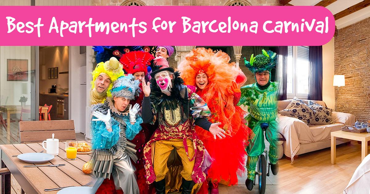 Gdzie szukać noclegu na karnawał w Barcelonie?