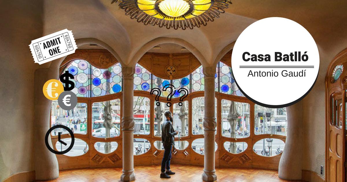 Bezoek het Casa Batlló van Antoni Gaudí