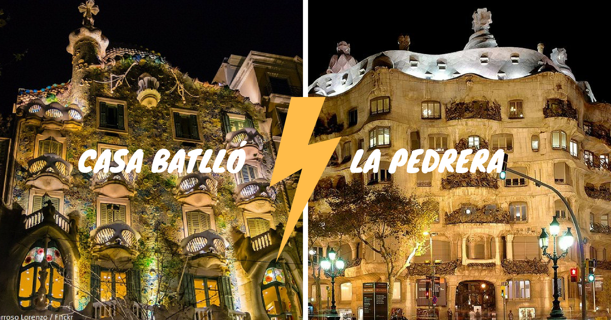 The battle: Casa Batlló of La Pedrera?