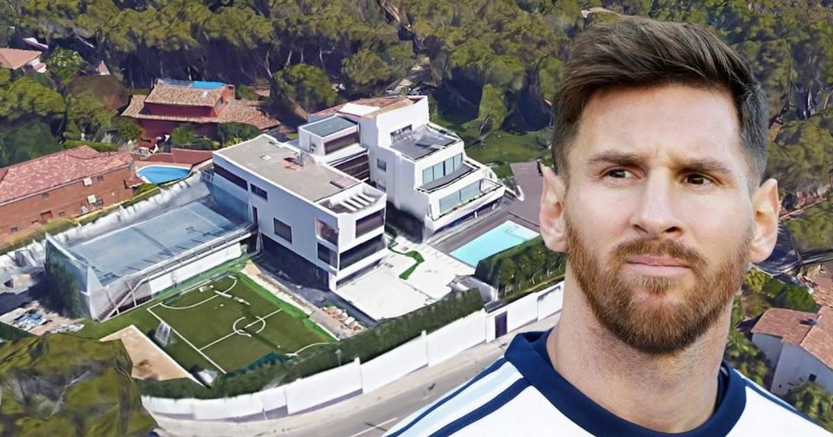 Das Haus von Lionel Messi