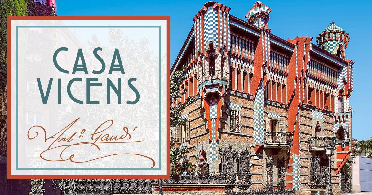 La Casa Vicens de Gaudi