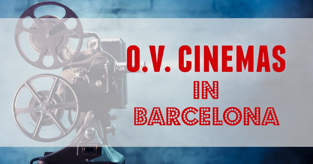 English and original language cinemas in Barcelona