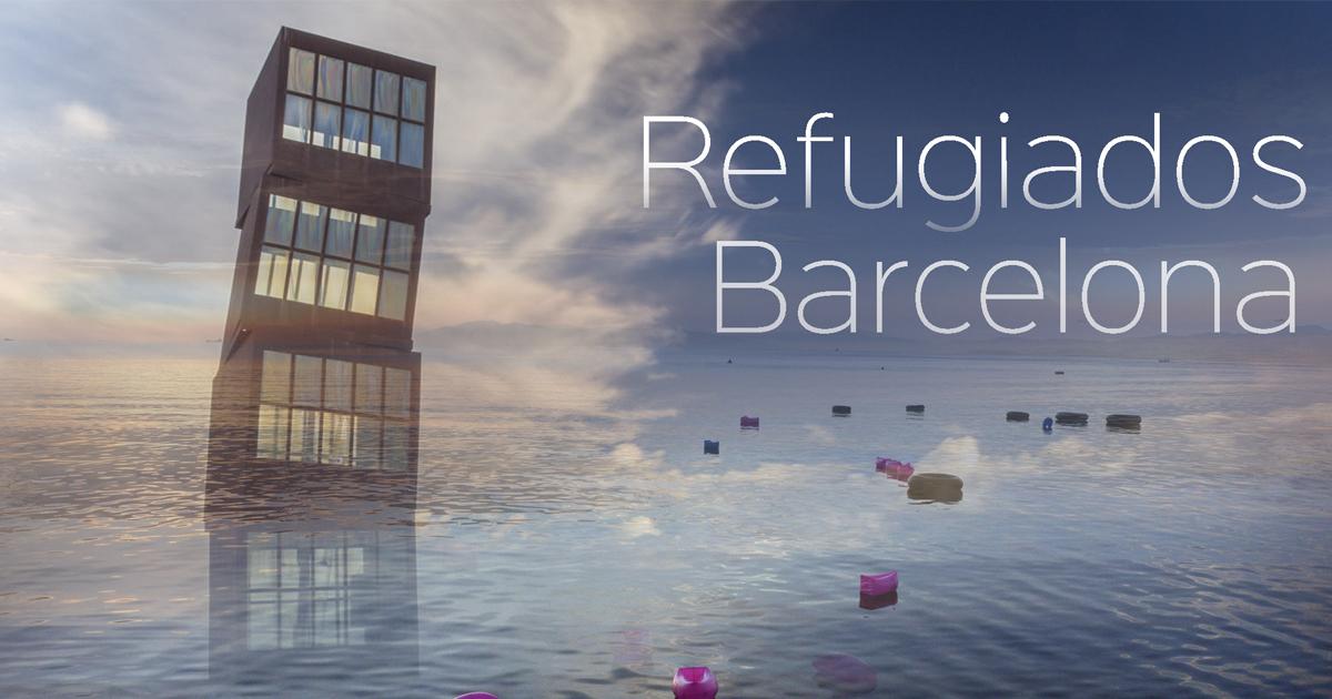 Die Krise der Flüchtlinge in Barcelona