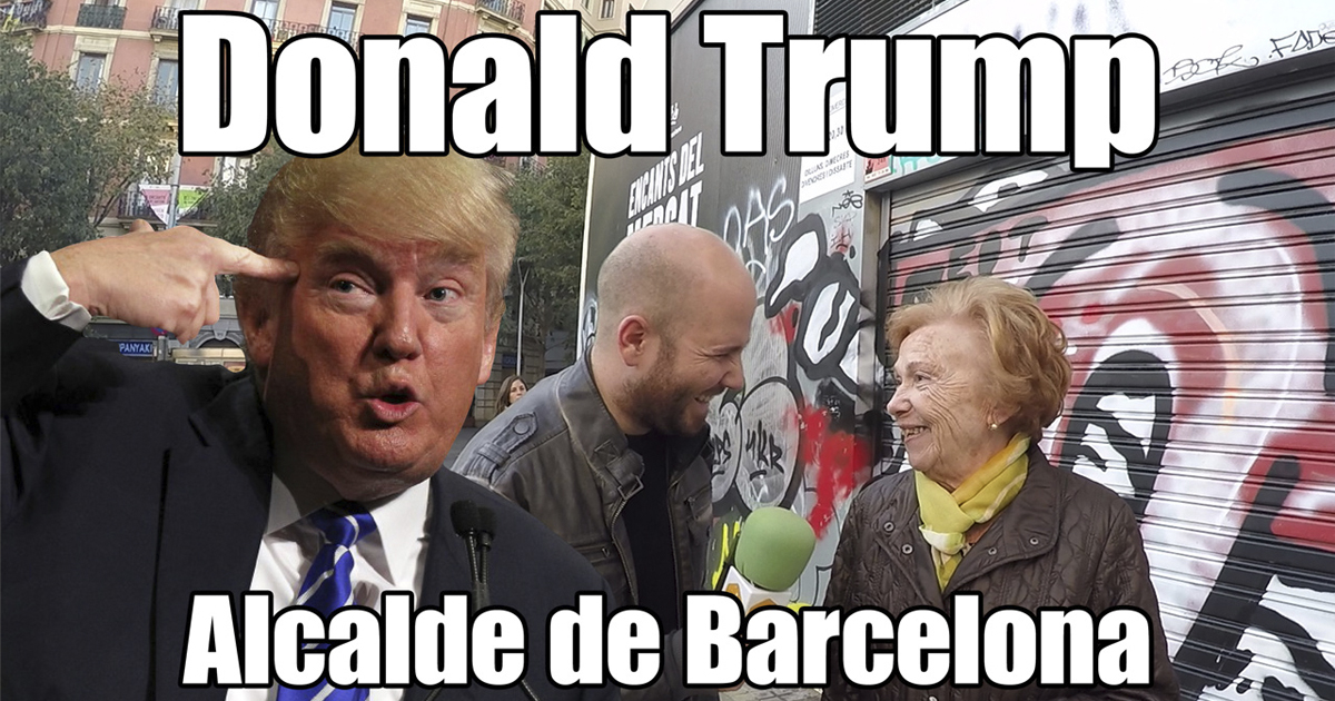 Donald Trump - Mayor of Barcelona