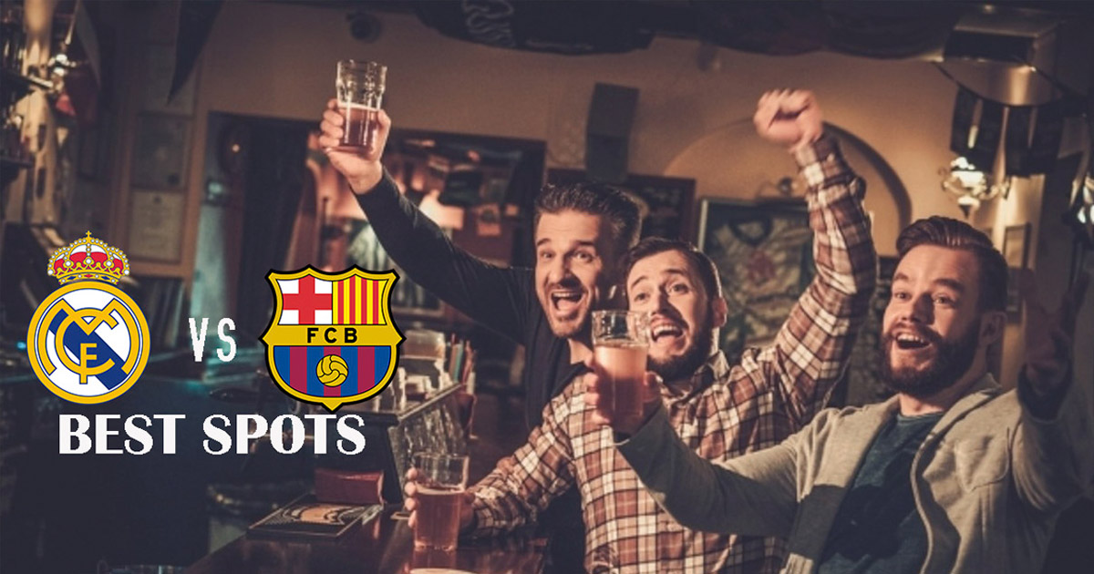 Which bars show El Clasico Barcelona - Madrid?