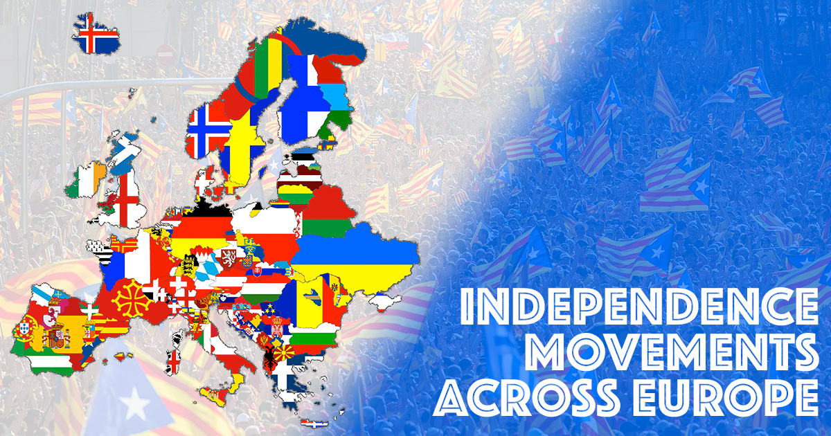 Principali Movimenti Indipendentisti in Europa
