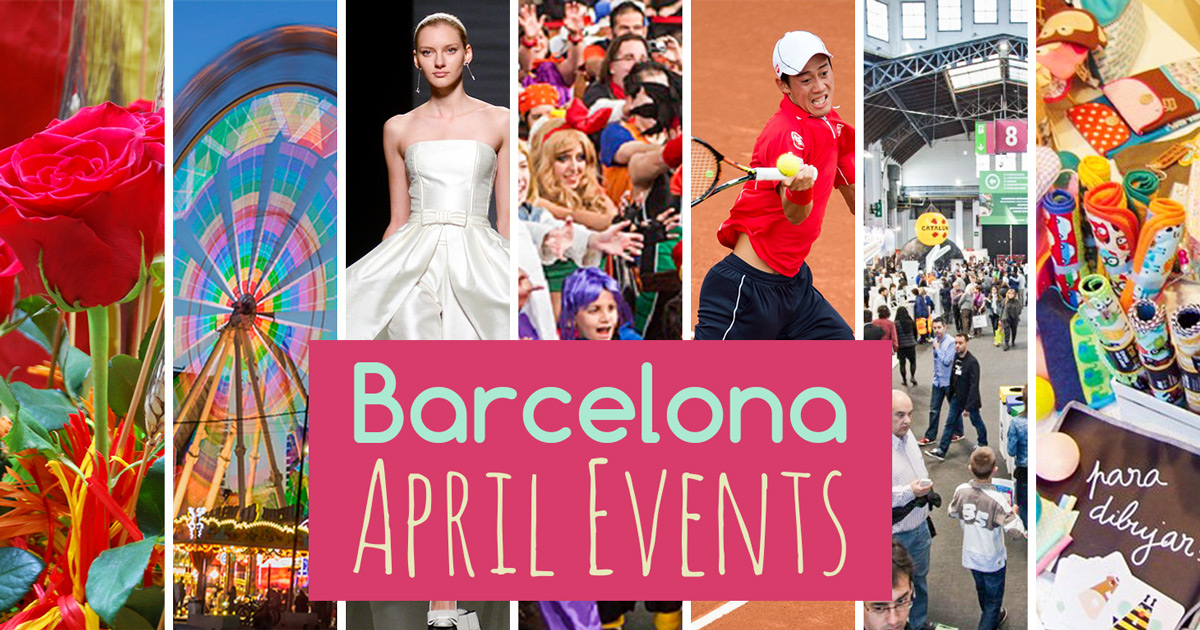April Events in Barcelona 2018