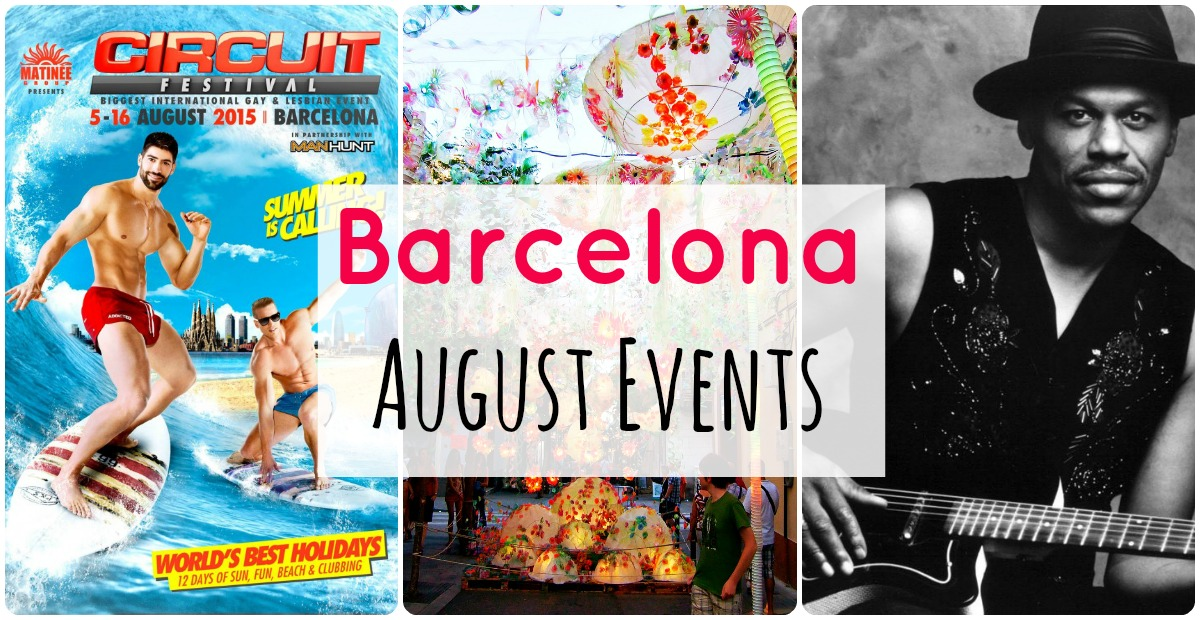 Outline of the best events in Barcelona in August