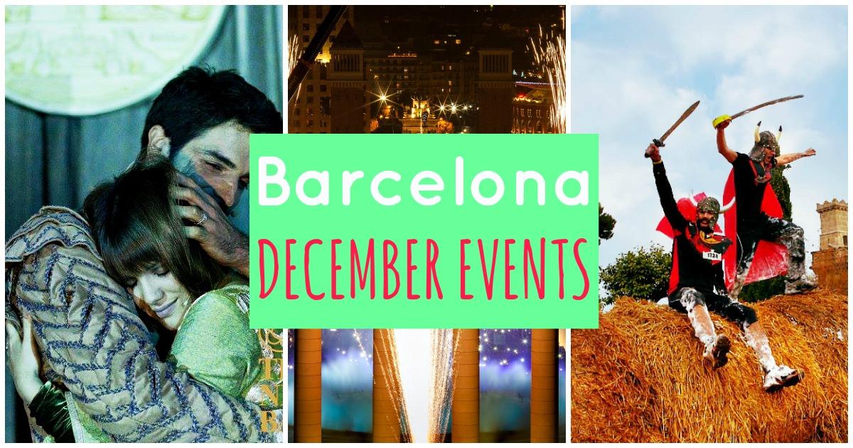 Los mejores eventos de Diciembre en Barcelona