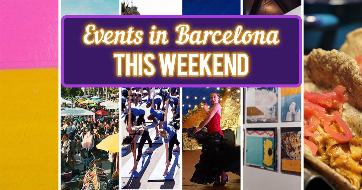 Eventos Barcelona Fin de Semana 15-17 Julio