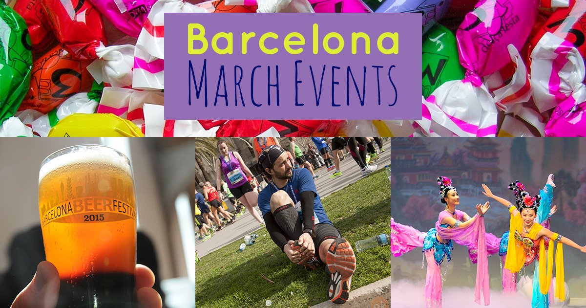 Outline of the best Barcelona events in March