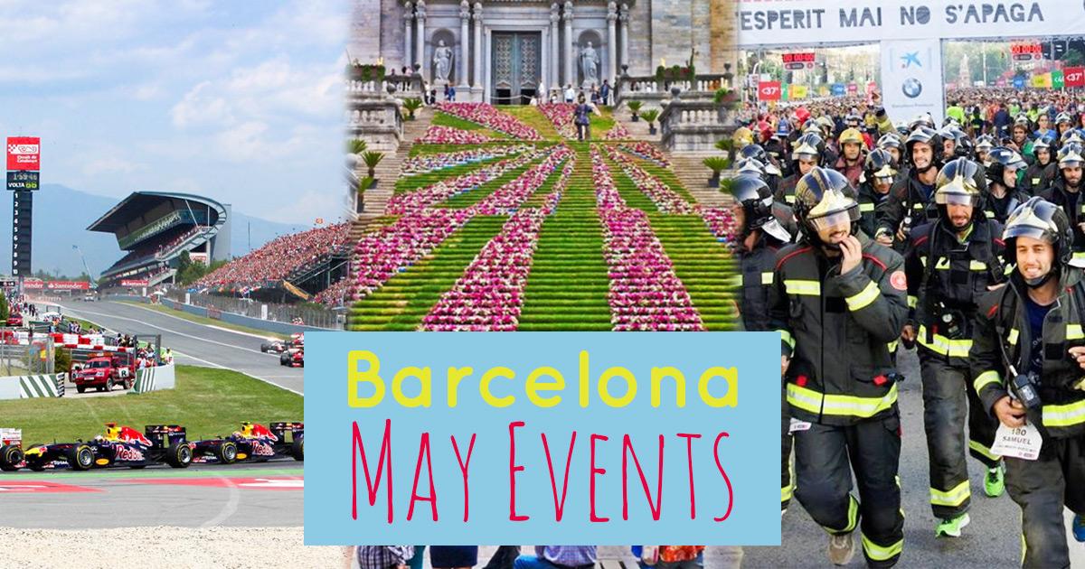 ¡Los eventos de mayo en Barcelona!