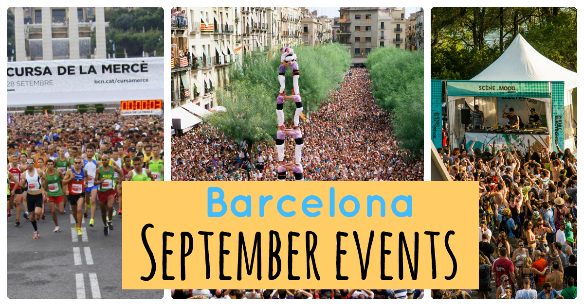 The best events in Barcelona this September