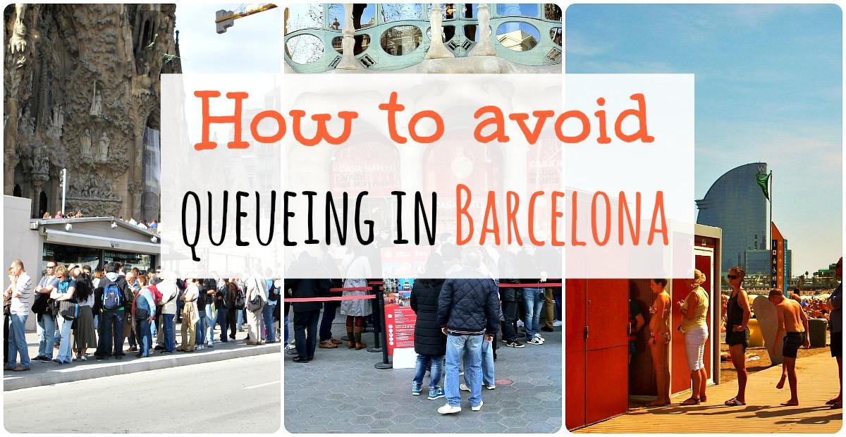 Conseils pour éviter les files d'attente à Barcelone