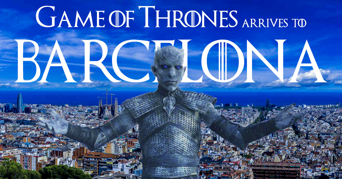 Exposición Game of Thrones en Barcelona