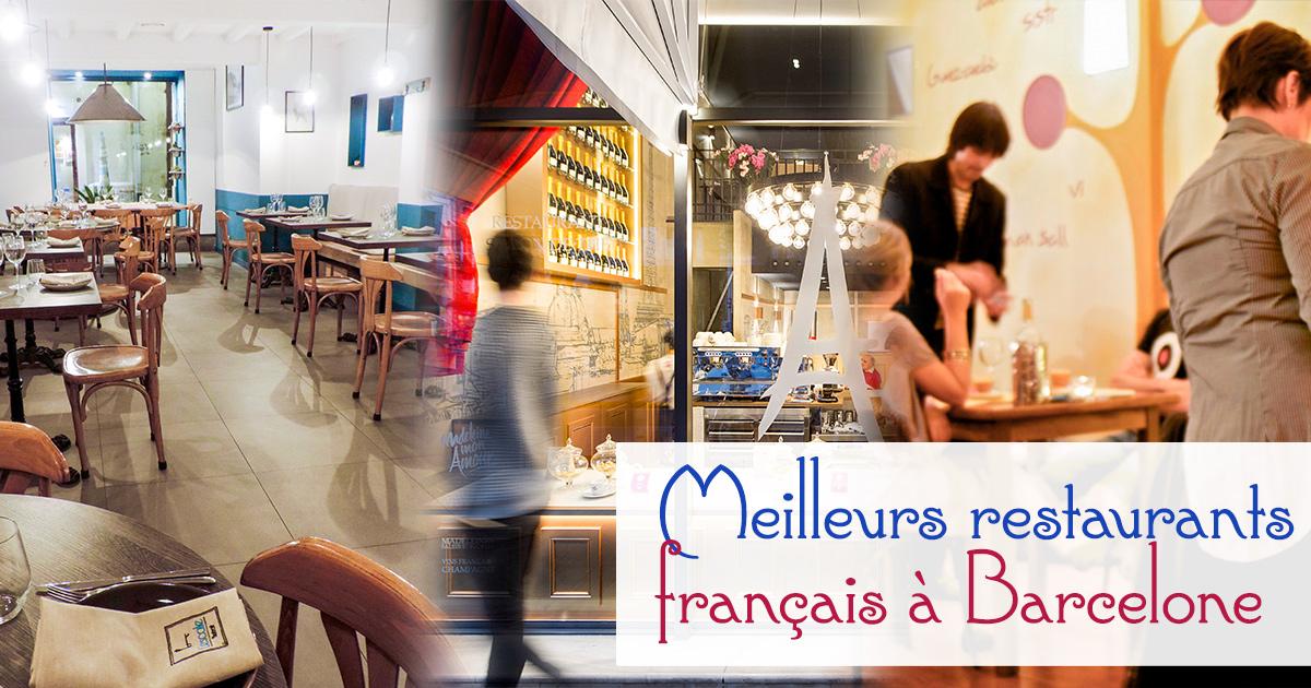 Meilleurs restaurants français à Barcelone