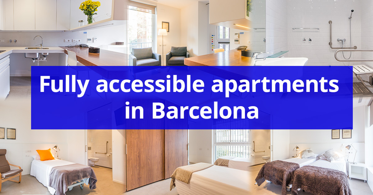 Truly fully adapted apartments in Barcelona