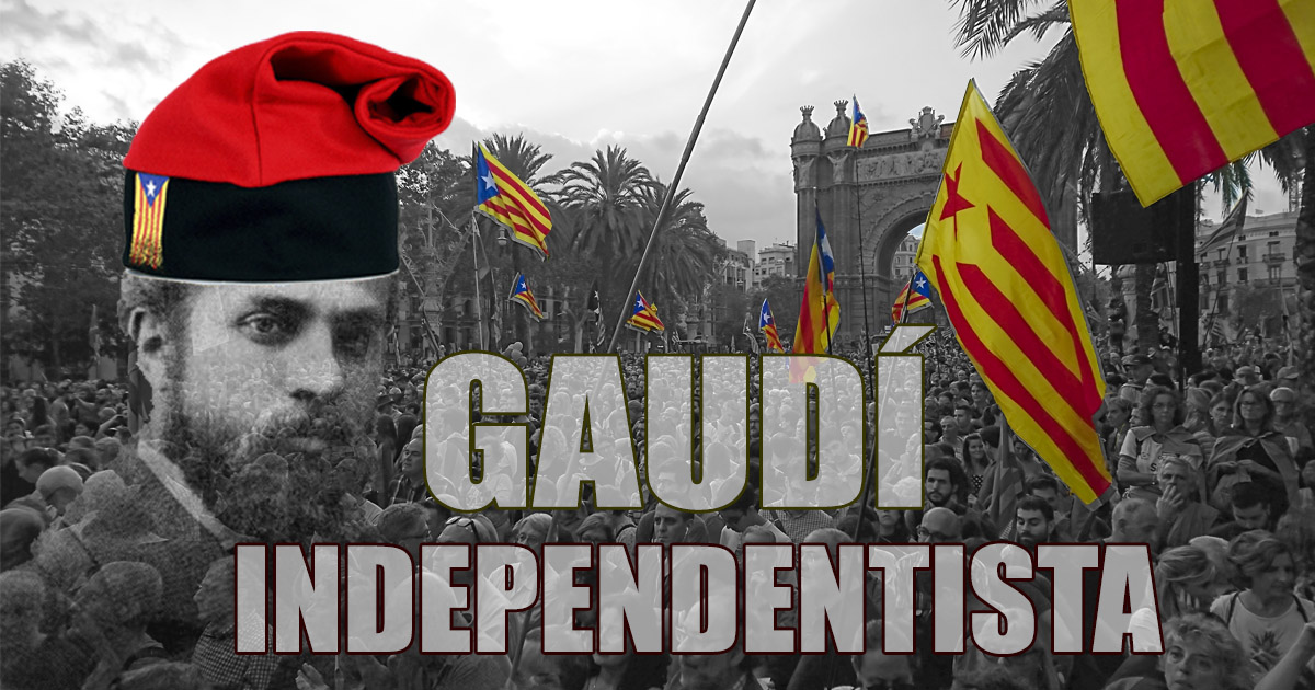 Gaudí, from architecture to Catalanism