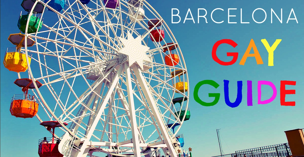 The Definitive Gay Guide To Barcelona: Gay Barcelona Map At Infoasik.co