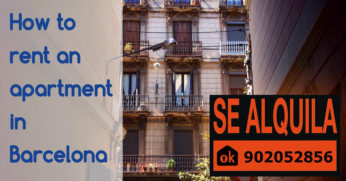 Hur man hyr en lägenhet i Barcelona