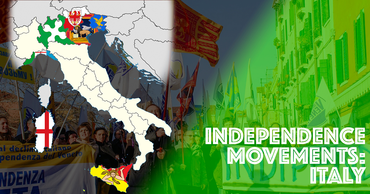 Veneto and Lombardy in Search of Independence