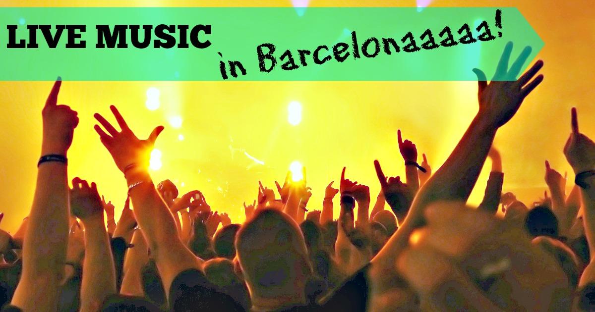 Musique en live à Barcelone