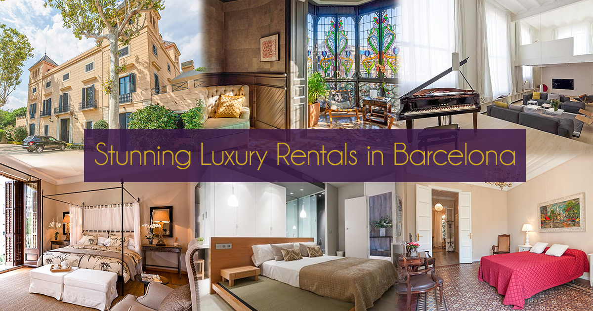 The most opulent luxury apartments in Barcelona