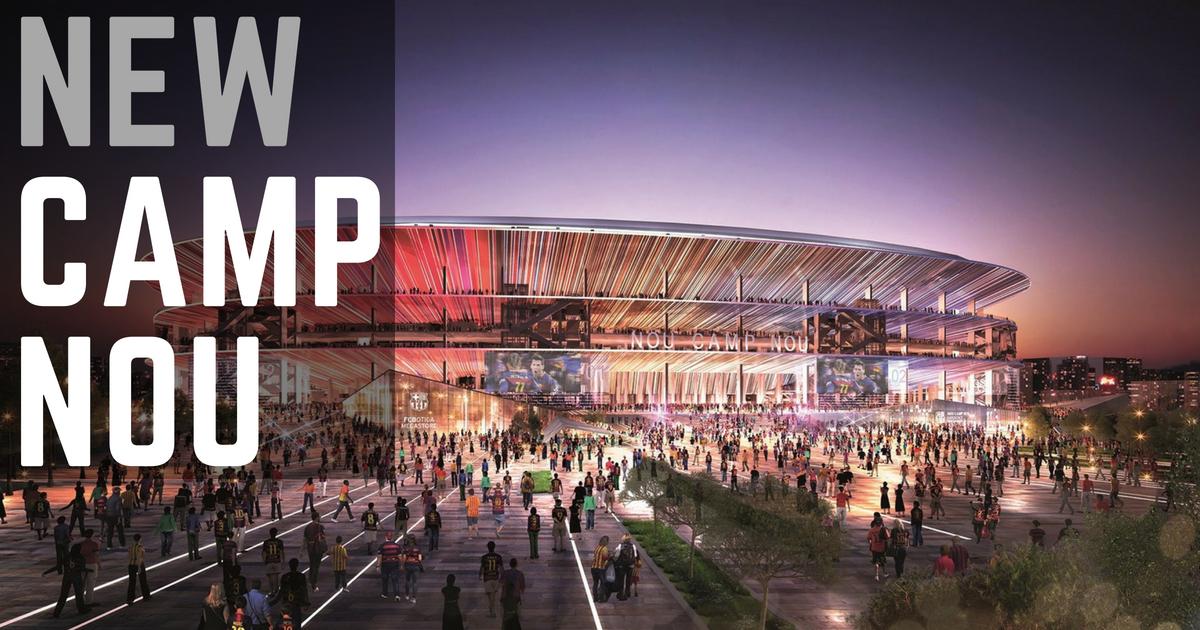 El nuevo estadio Camp Nou