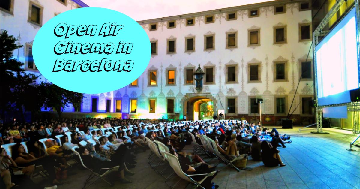 Cines al aire libre en Barcelona