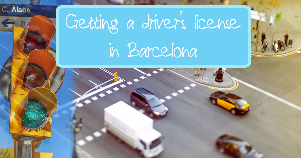 Getting a Driving licence in Barcelona