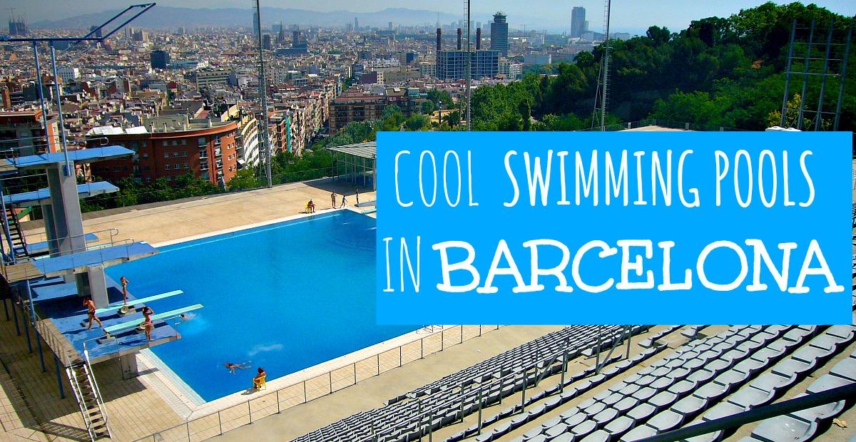 7 Piscinas Descubiertas en Barcelona