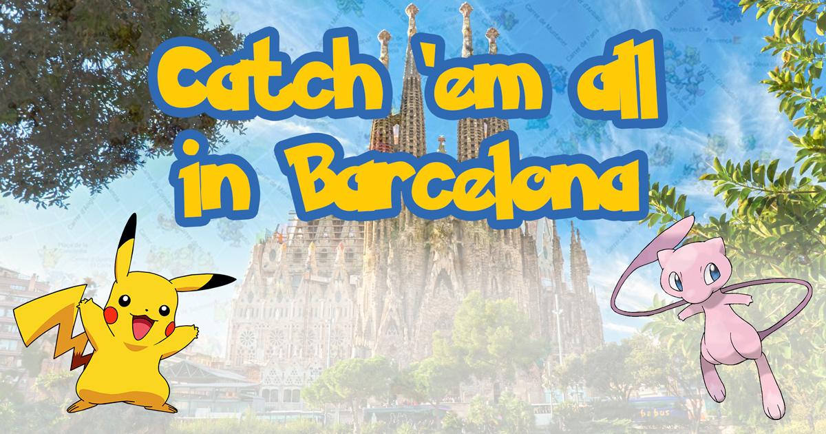 Ruta de 'Pokemon GO' en Barcelona!